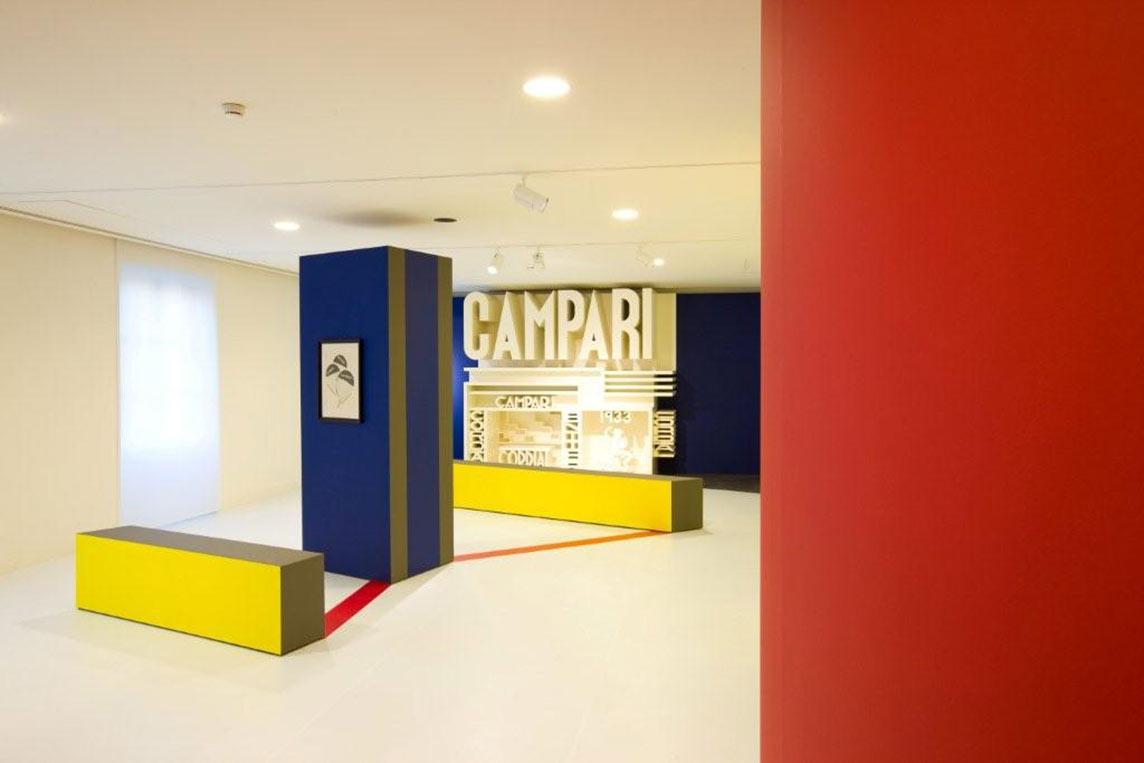 Depero room Campari Gallery