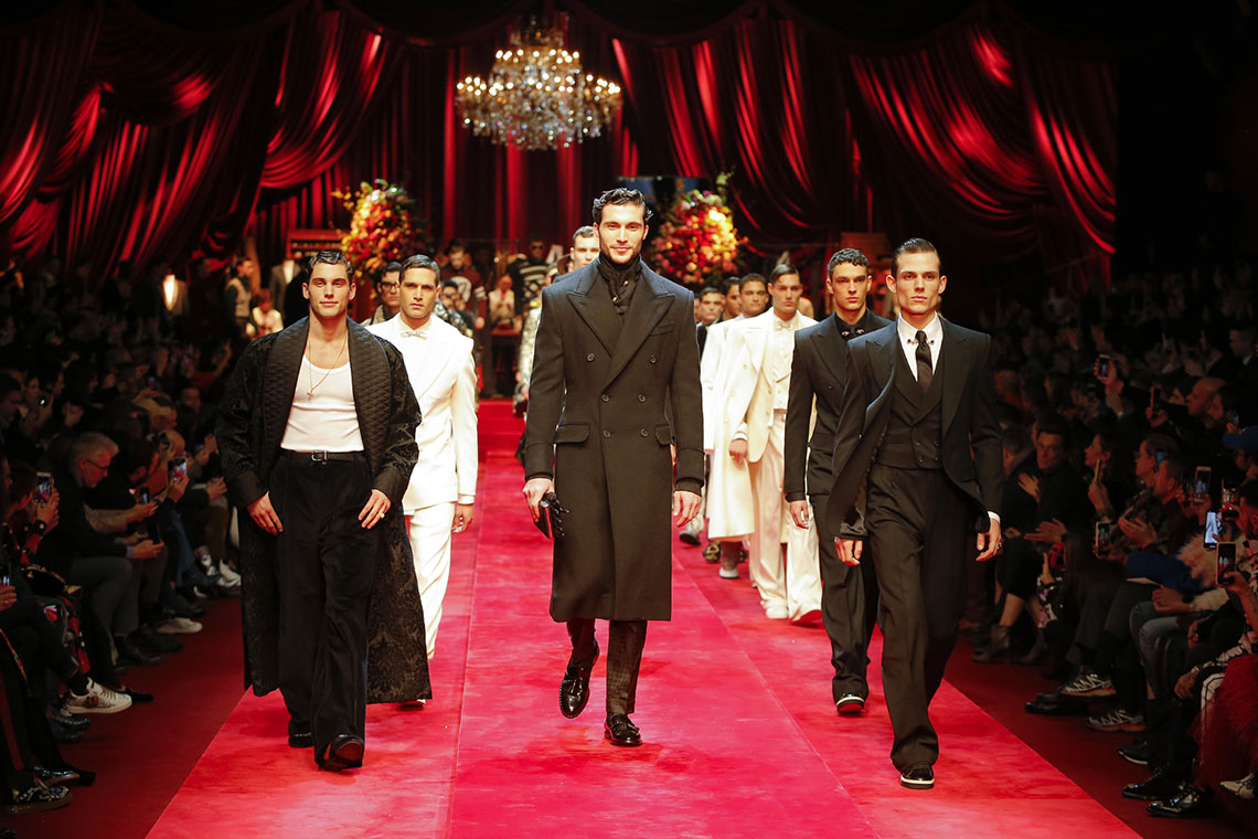 Dolce&Gabbana Men's fashion show FW 19-20