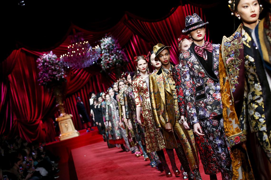 Dolce&Gabbana Woman's Fashion show FW19-20