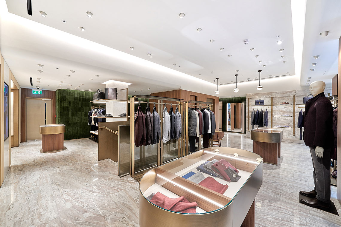 boutique CANALI Londra, 64 new bond street